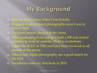 Creating and publishing your own photography book - Sierra Club ...