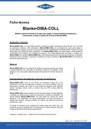 Ficha técnica Blanke•DIBA-COLL