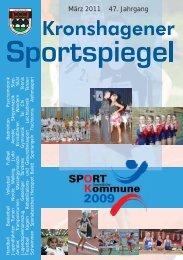 März 2011 47. Jahrgang - TSV Kronshagen