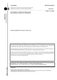 2012 DAC Report on Multilateral Aid - Official OECD Documents ...
