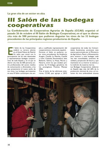 III Salón de las bodegas cooperativas - Cooperativas Agro ...