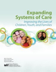Expanding Systems of Care - National Technical Assistance Center ...