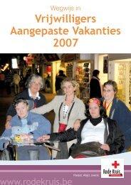 Brochure Aangepaste Vakanties - Rode Kruis-Vlaanderen