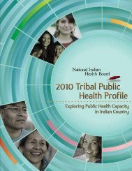 2010 tribal public health profile 2010 tribal public health profile