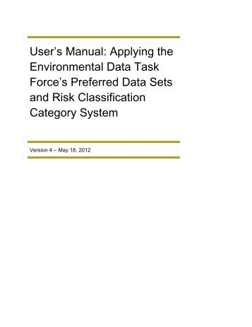 User's Manual - Western Electricity Coordinating Council