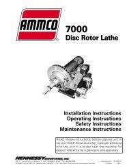 AMMCO 7000 Brake Lathes - NY Tech Supply