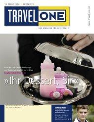 "DAS MAGAZIN FÃœR REISEPROFIS 19. MÃ""RZ 2008 l ... - Travel-One"