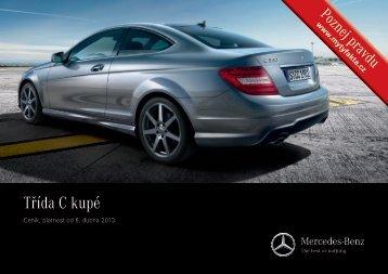 Třída C - kupé - Mercedes-Benz PRAHA