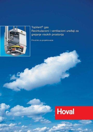 TopVent® gas Recirkulacioni i ventilacioni urešaji za ... - Hoval
