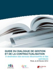 Guide de la contractualisation - DRJSCS