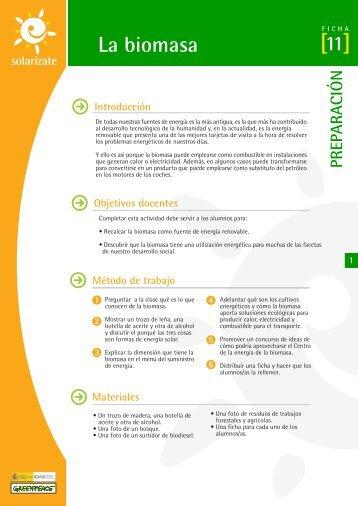 La biomasa - Solarizate
