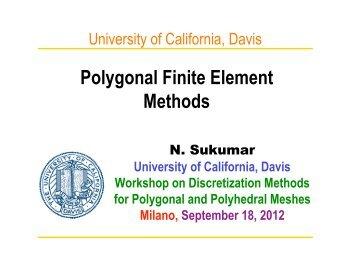 Polygonal Finite Element Methods