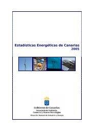 Estadísticas Energéticas de Canarias 2005 - Gobierno de Canarias