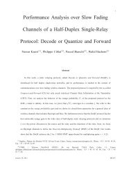 Performance Analysis over Slow Fading Channels of a Half-Duplex ...