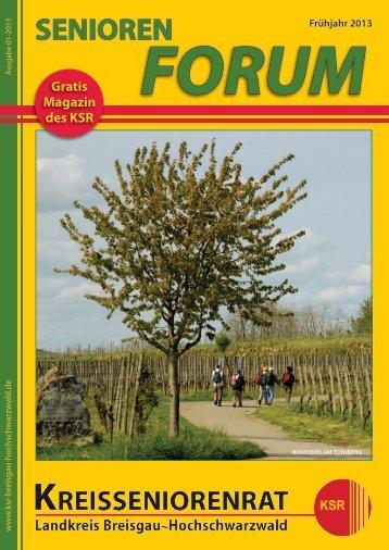 Frühlingsausgabe als PDF-download - Kreisseniorenrat - Landkreis ...