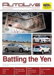 Battling the Yen - Johannesburg International Motor Show