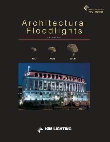 Architectural Floodlights - Kim Lighting