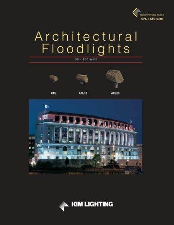 Architectural Floodlights - Kim Lighting