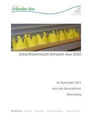 Zukunftswerkstatt Schwalm-Aue 2030