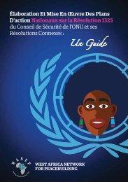Élaboration Et Mise En Œuvre Des Plans D'action Nationaux sur la ...