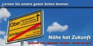 Lernen Sie unsere guten Seiten kennen - Oberharmersbach