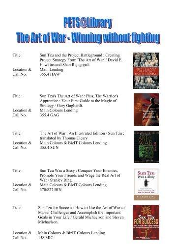 The Art of War - ELISER