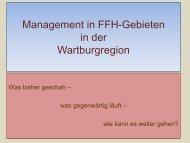 FFH - Lebensraumtypen (Offenland) in ha