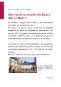 PROGRAMME SCOLAIRE secondaire2012-13 - Musée des beaux ... - Page 4