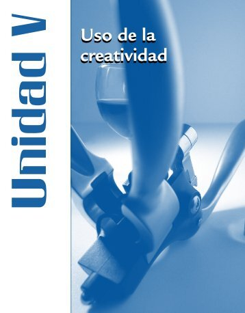 Uso de la creatividad Uso de la creatividad
