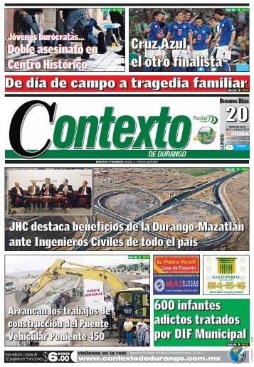 20/05/2013 - Contexto de Durango