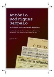 António Rodrigues Sampaio: Jornalista - Livros LabCom - UBI