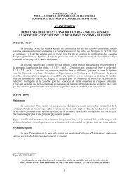 avant-propos directives relatives à l'inscription des variétés admises ...