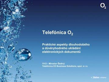 Miroslav Šedivý, Telefónica O2