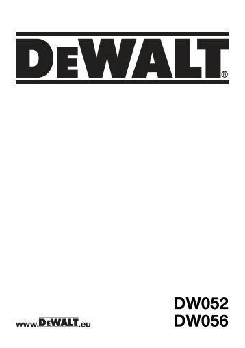 English - Service - DeWALT
