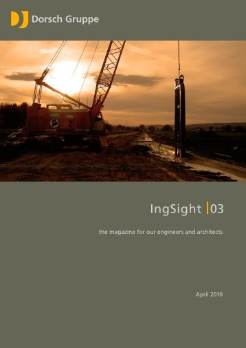IngSight 03 – April 2010 - Dorsch