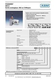 information pdf WS12 - ASM GmbH