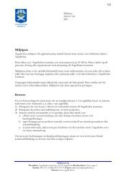 Kriterier för miljöpriset, 106 kB - Ängelholms kommun