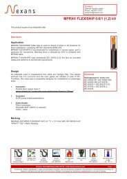 MPRX® FLEXISHIP 0.6/1 (1.2) kV - Nexans