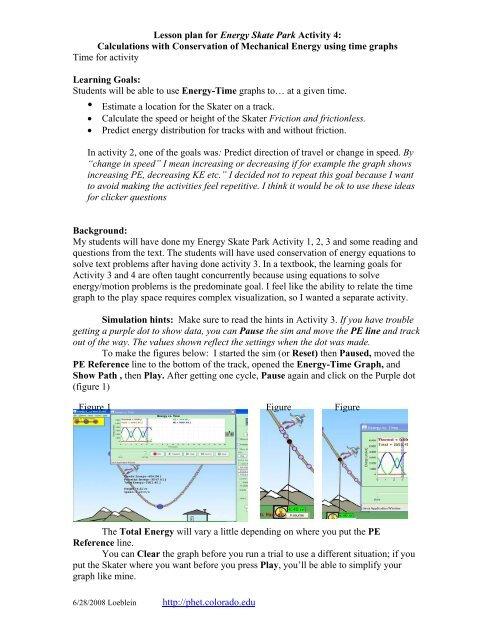 Energy Skate Park Lab Answers - Energy Etfs