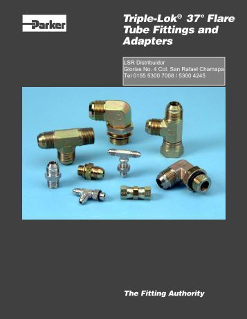 Triple-Lok 37° Flare Tube Fittings & Adapters - LSR Distribuidor
