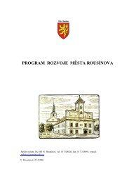 Program územního rozvoje (soubor PDF) - Rousínov
