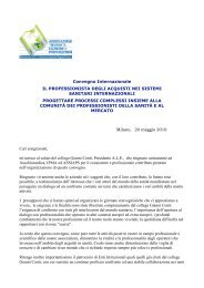 Apertura lavori - Sandra Zuzzi - fareonline.it