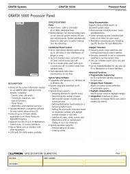 GRAFIK 5000 Processor Panel - Lutron