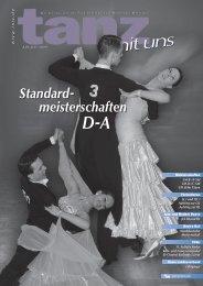 Standard- meisterschaften - Deutscher Tanzsportverband eV