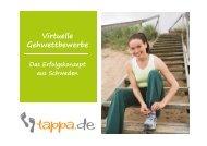 Virtuelle Gehwettbewerbe am Arbeitsplatz - Deutsches Netzwerk Büro