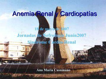Anemia Renal y Cardiopatías