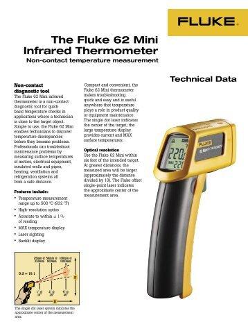 The Fluke 62 Mini Infrared Thermometer - Ampmech.com