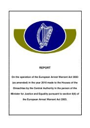 European Arrest Warrant Annual Report (PDF - 153kb) - The ...