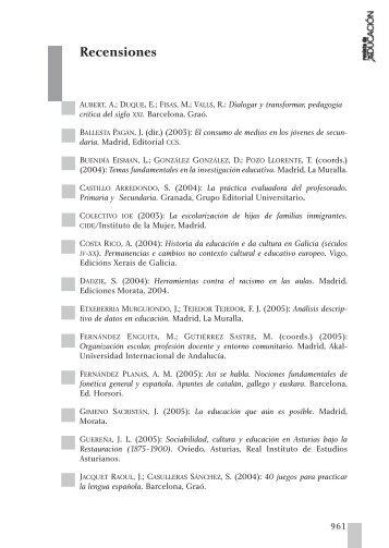 revista impresa en papel - Ministerio de Educación, Cultura y Deporte