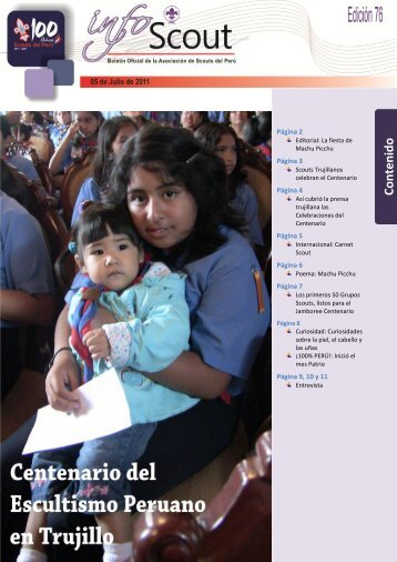 Info SCOUT 77 - Scouts del Perú